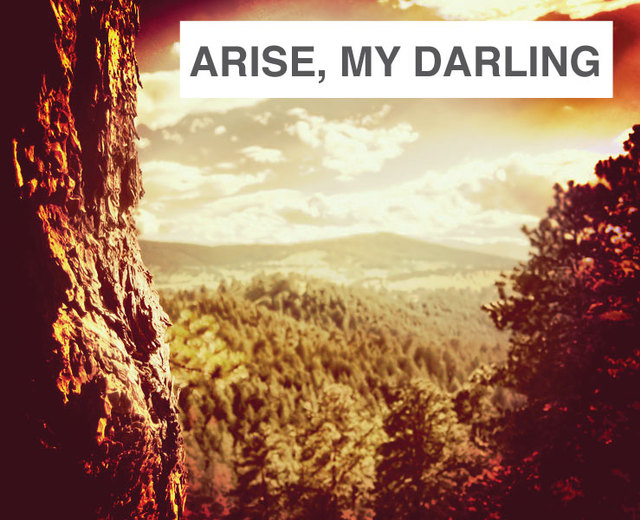 Arise, My Darling, My Beautiful One | Arise, My Darling, My Beautiful One| MusicSpoke