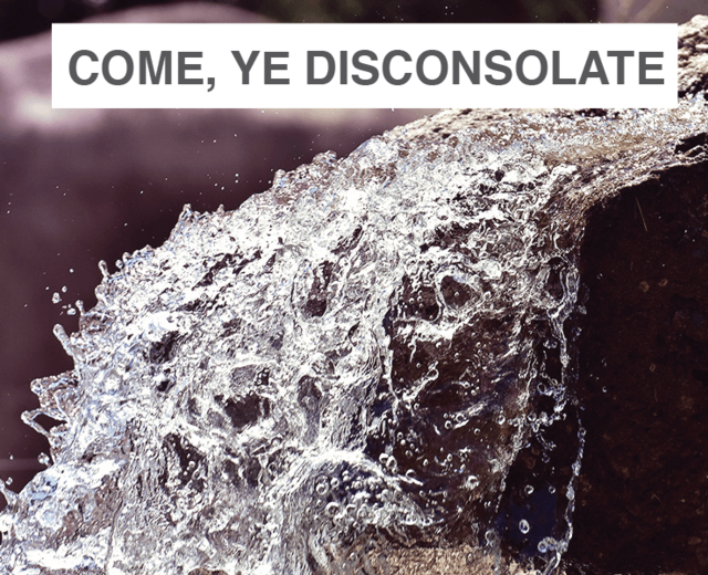 Come, Ye Disconsolate | Come, Ye Disconsolate| MusicSpoke