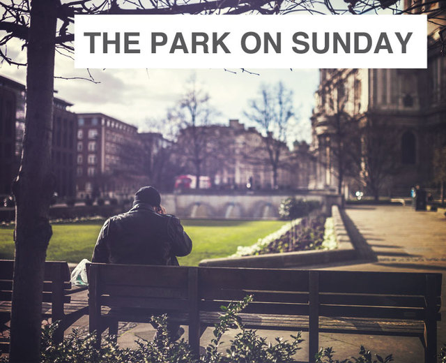 The Park on Sunday | The Park on Sunday| MusicSpoke