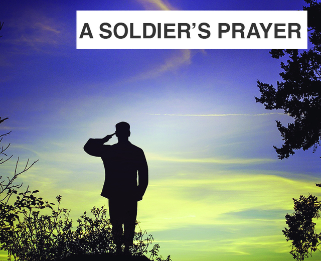 Soldier's Prayer | Soldier's Prayer| MusicSpoke