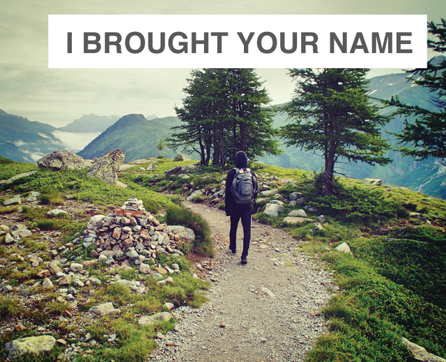 I Brought Your Name To The River | I Brought Your Name To The River| MusicSpoke