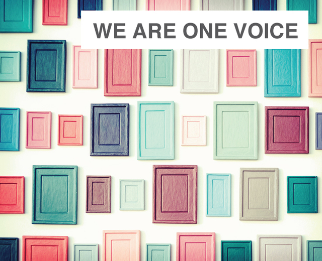 We Are One Voice | We Are One Voice| MusicSpoke