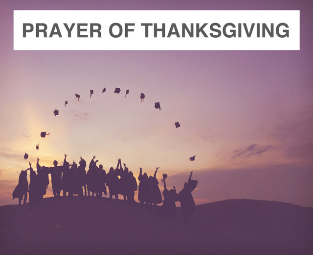 Prayer of Thanksgiving | Prayer of Thanksgiving| MusicSpoke