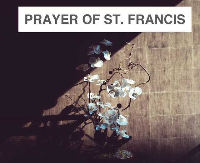 A Prayer of St. Francis | A Prayer of St. Francis| MusicSpoke