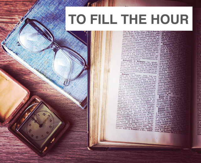 To Fill the Hour | To Fill the Hour| MusicSpoke