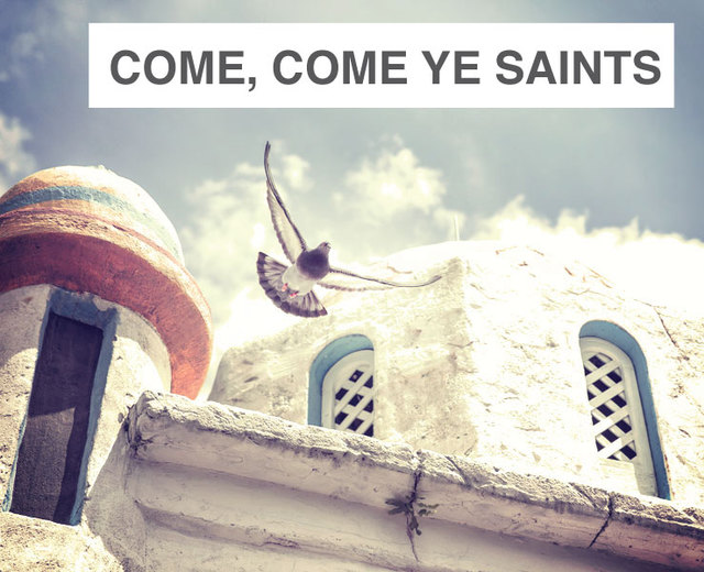 Come, come, ye saints (SATB) | Come, come, ye saints (SATB)| MusicSpoke