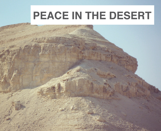 Peace in the Desert | Peace in the Desert| MusicSpoke